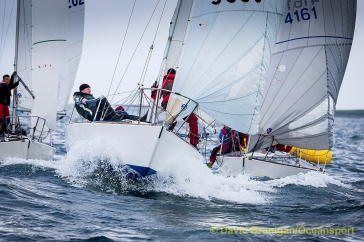 Rosses point, Co. Sligo - Saturday 21st May 2016: at the Martin Reilly Motors J24 Northern Championships 2016. Photograph: David Branigan