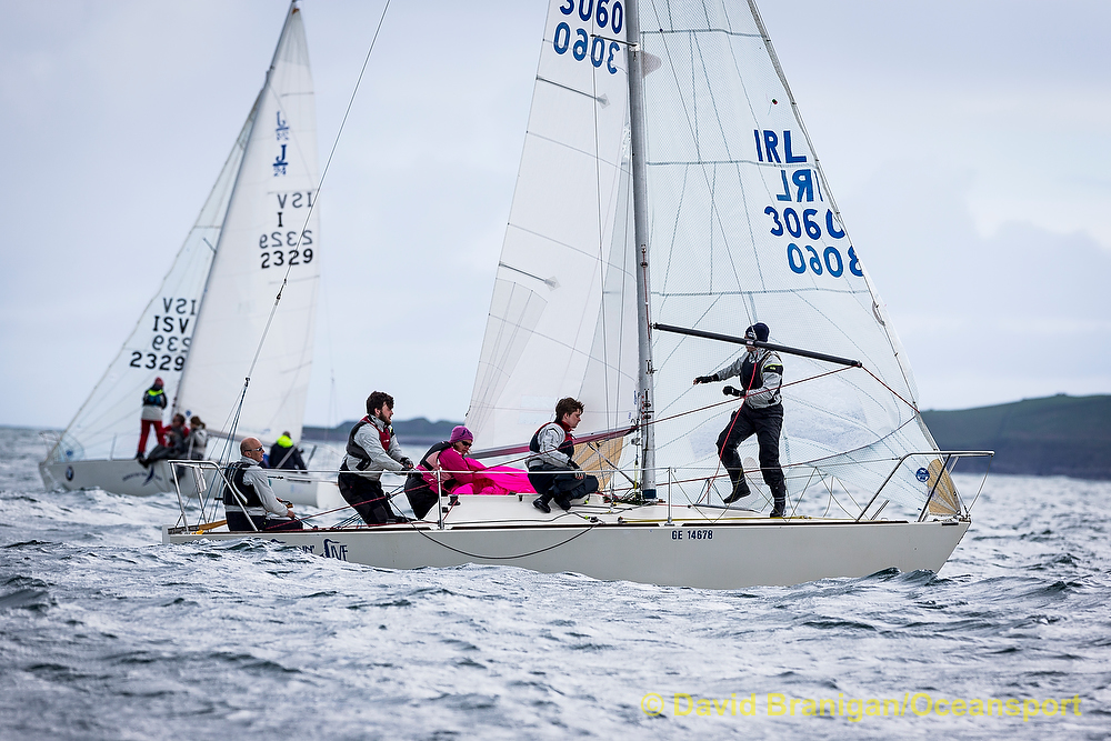 Irish J24 Northern Championships 2016 19 Boats At Sligo